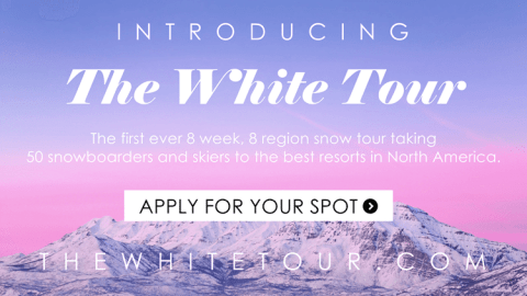 Join Us For The First-Ever 8 Week, 8 Region Snowboarding & Ski Tour