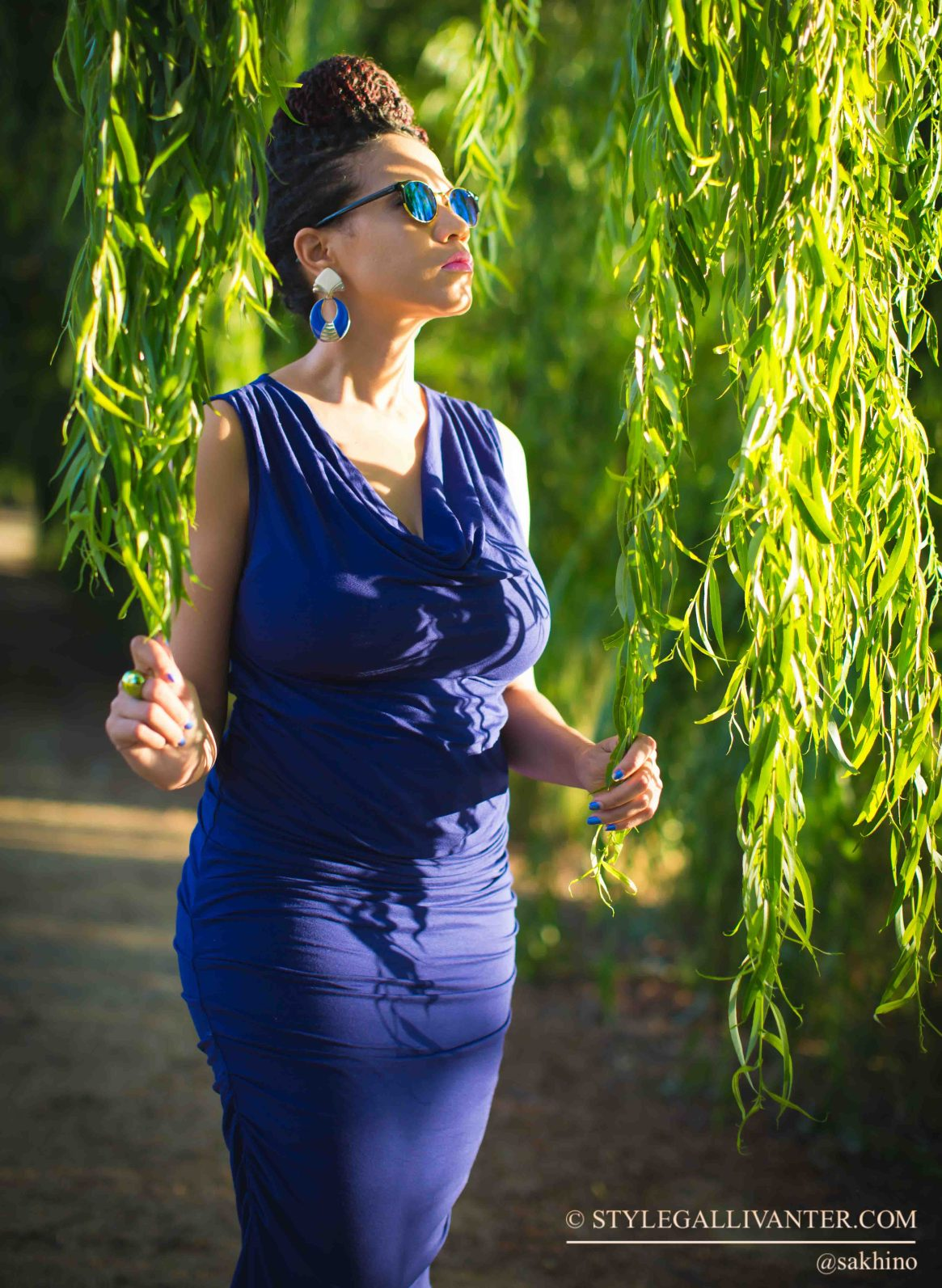 top-fashion-bloggers-australia_seraphine-maternity-clothing_celebrity-bump_senegalese-twist_blue-bodycon-dress_africas-top-fashion-blogger-5-2