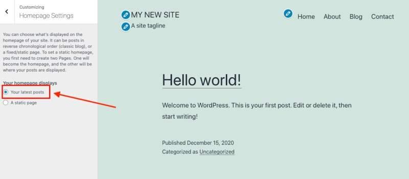 كيفية إنشاء موقع على الانترنت #15