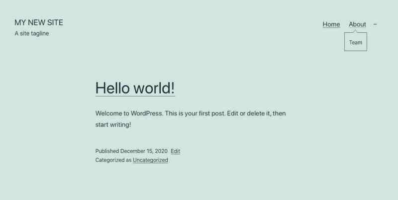 كيفية إنشاء موقع على الانترنت #2