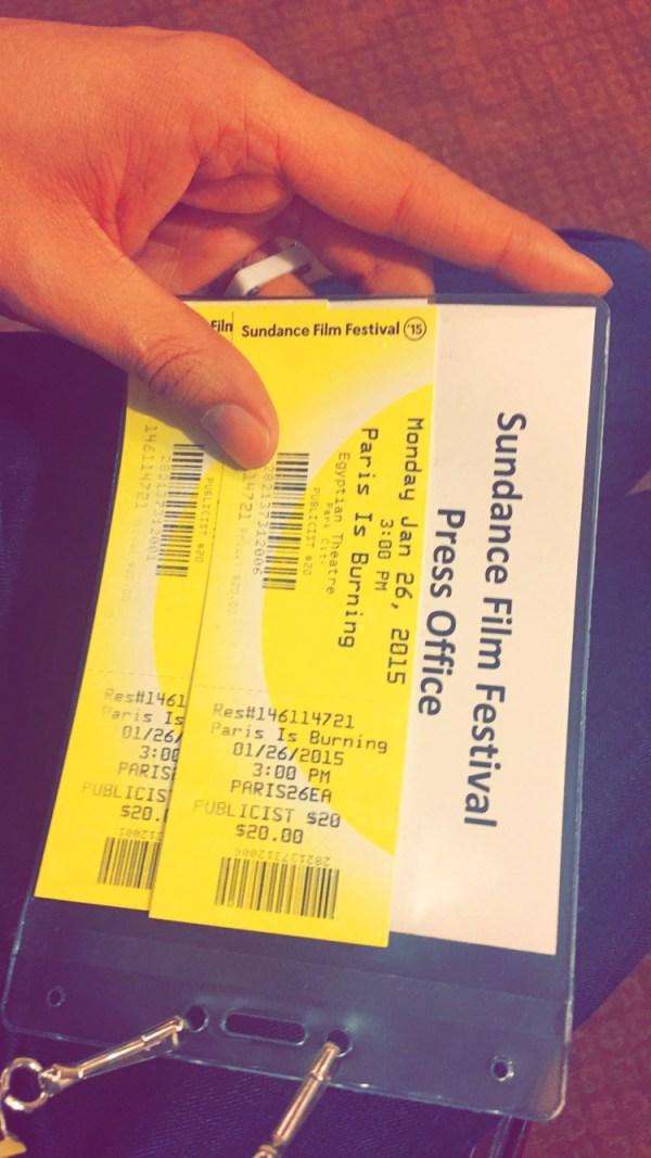 Press Tickets.