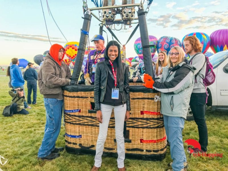 Assigned Balloon Team