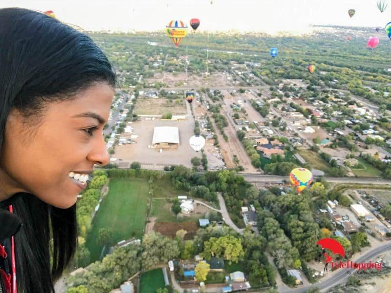 on the air balloon