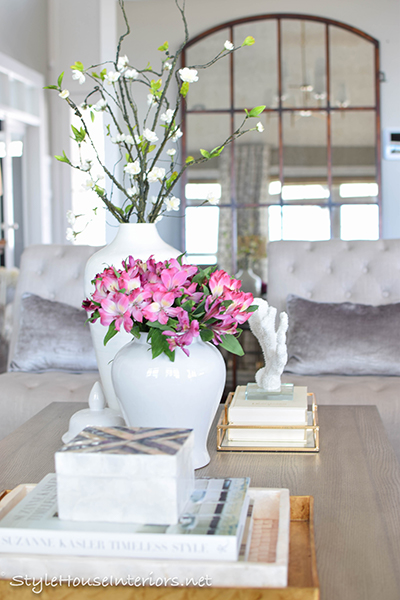 Image result for style coffee table decorative boxes