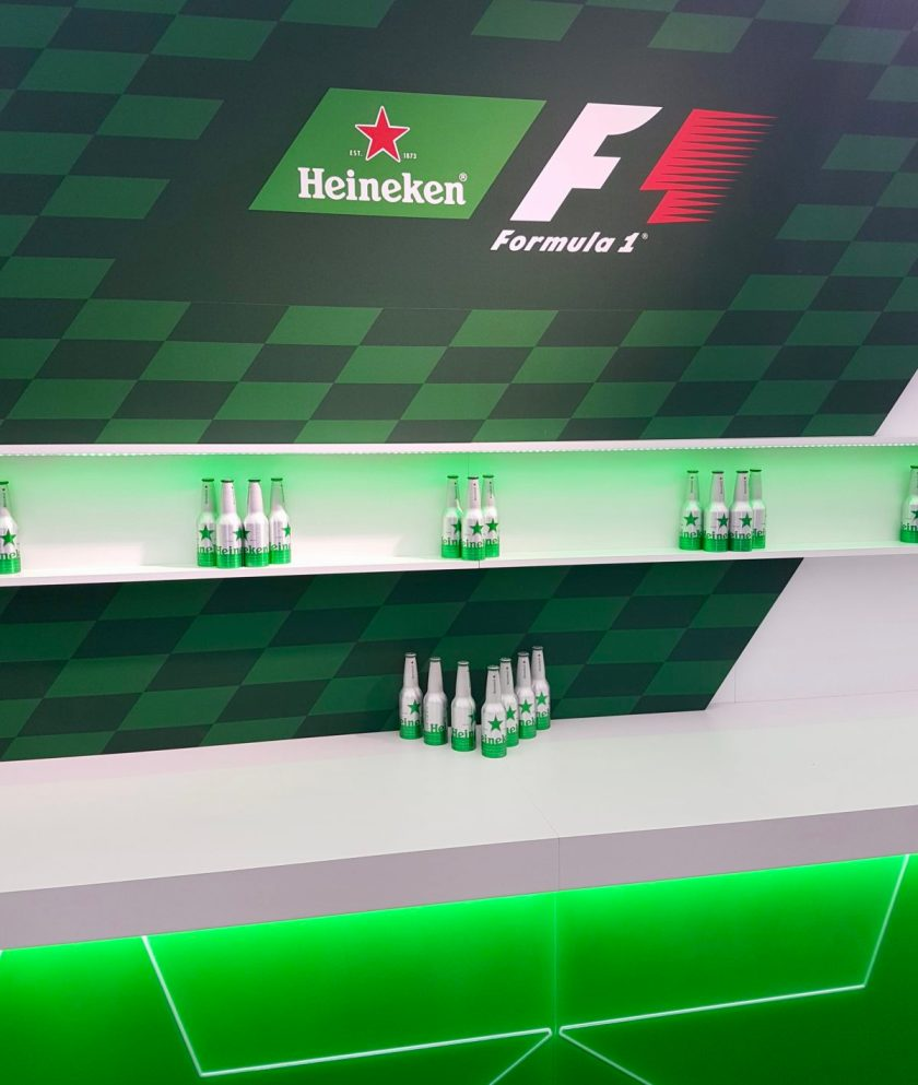 F1 Live London VIP Marquee