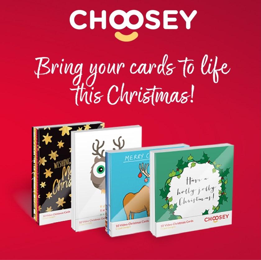 choosey christmas card