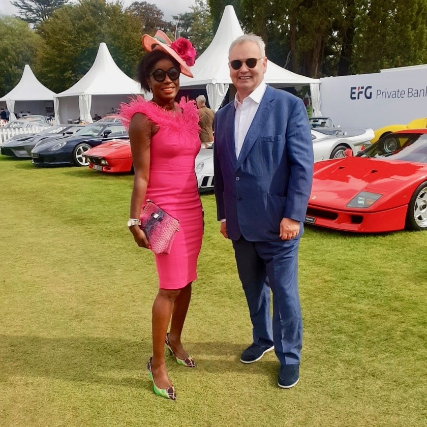 The Glamorous Lifestyle and Supercars. Eamonn Holmes