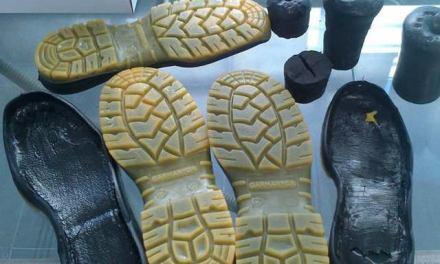 Suelas fabricadas con espumas de poliuretano reciclado