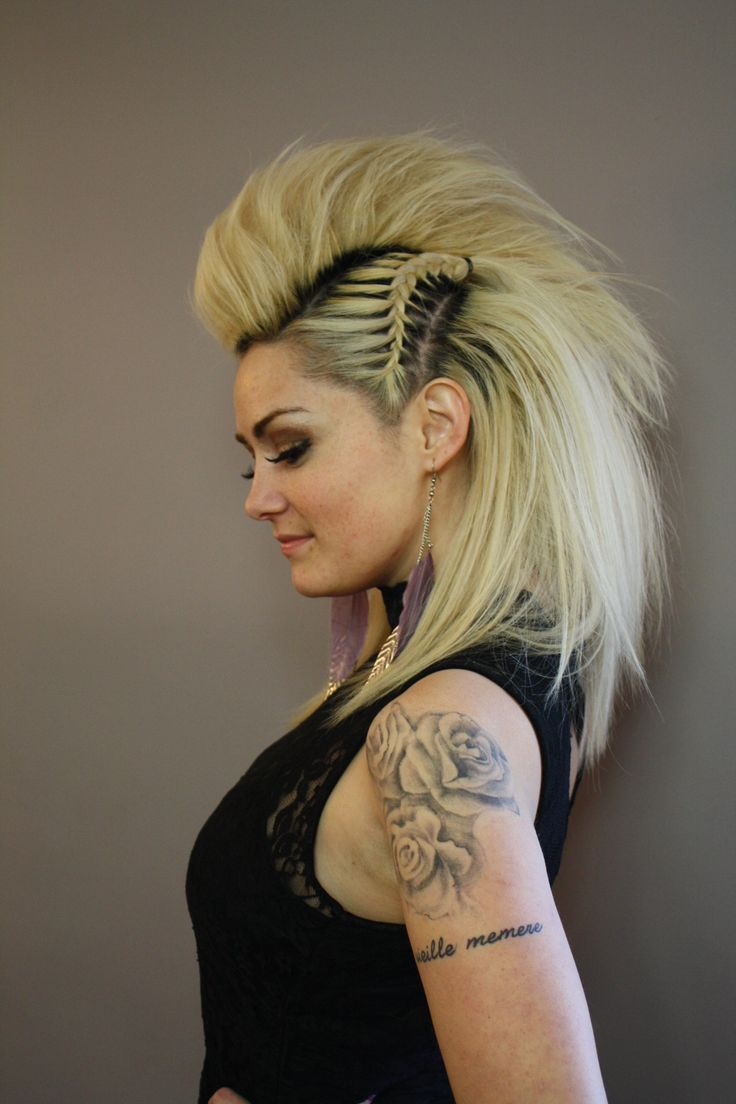 Punk Hairstyles Long Hair Fade Haircut