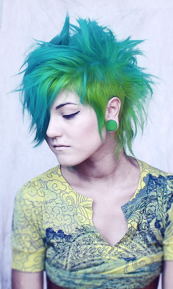 Image Result For Punk Long Hairstyles