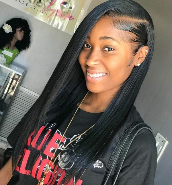 Image Result For Long Black Sew In Hairstyles