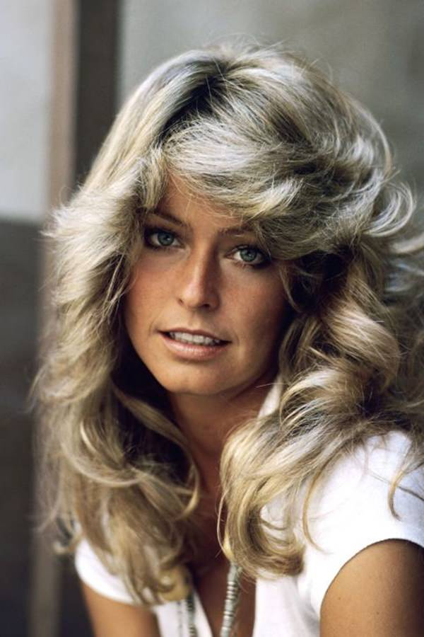 62 80 s Hairstyles That Will Have You Reliving Your Youth Farrah Fawcett rocked this look and became one of the bombshells of the 80 s   The feathered style was very popular