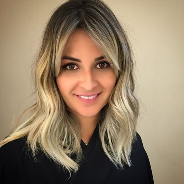 Image Result For Long Side Bangs With Layers