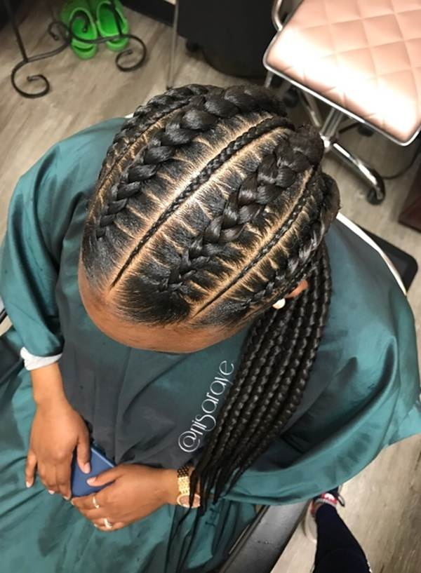 Bold and beautiful braided hairstyles feed in braid hairstyles. - 58040418 feed in braids  - Ladies: Choose From These Gorgeous Feed in Braid Hairstyles for your New Look