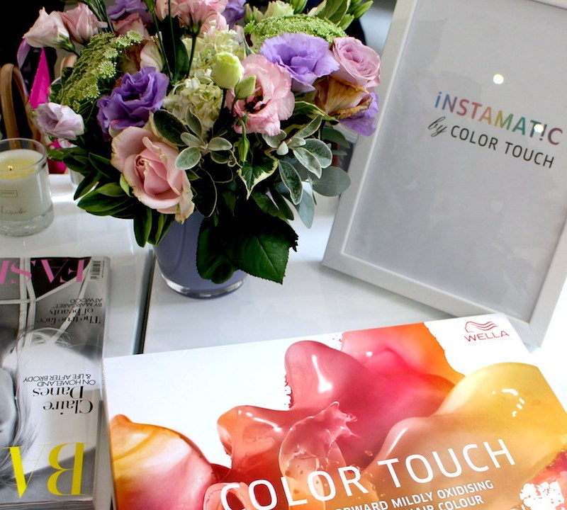 Wella Instamatic: A Flash of Colour at LFW