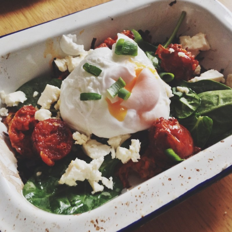 BRUNCH IDEA: CHORIZO & FETA ROSTI