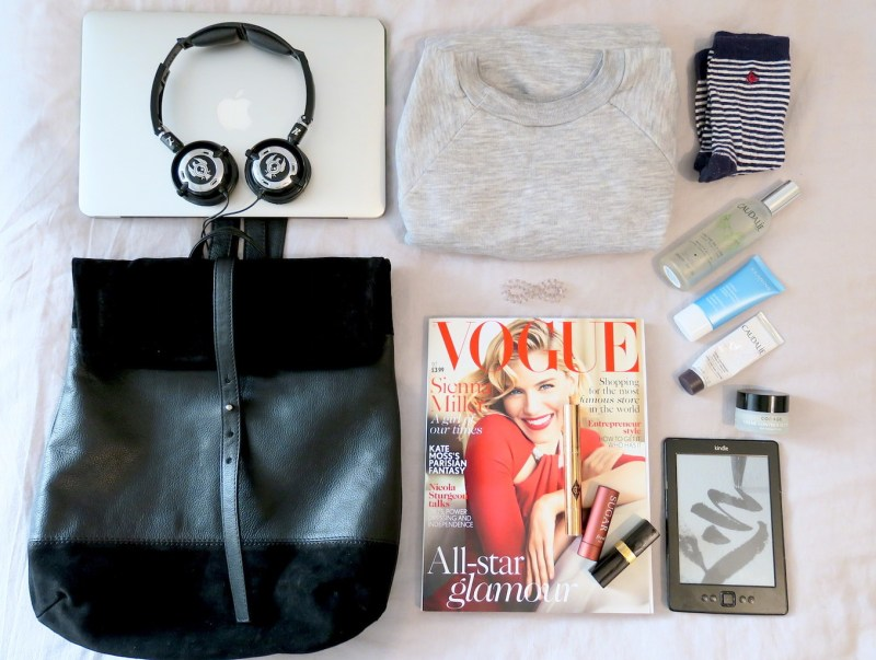 THE EDIT: WHAT'S IN MY CARRY ON BAG
