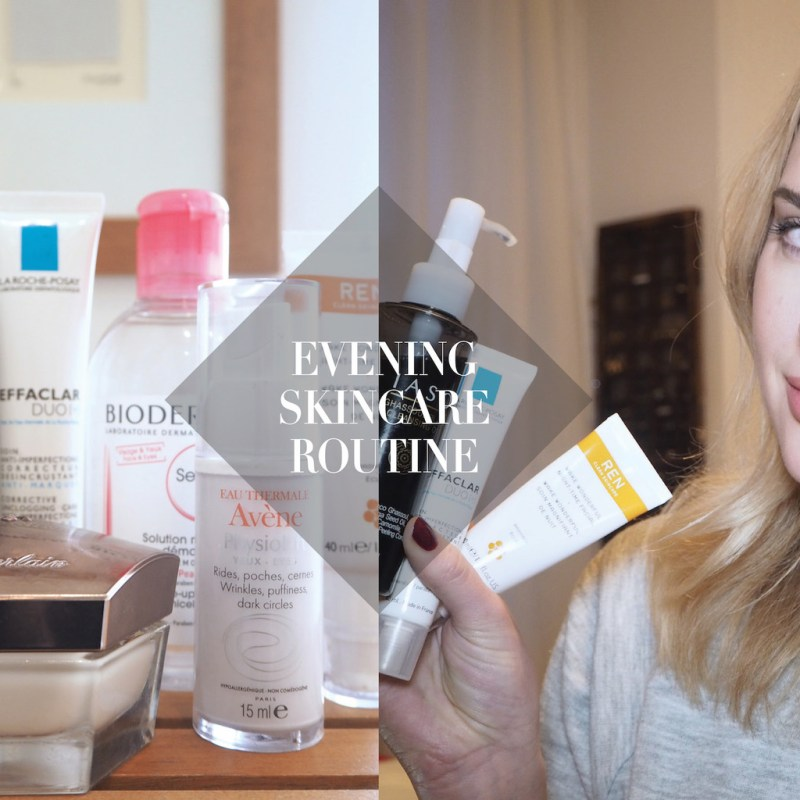 MY EVENING SKINCARE ROUTINE    WINTER EDITION