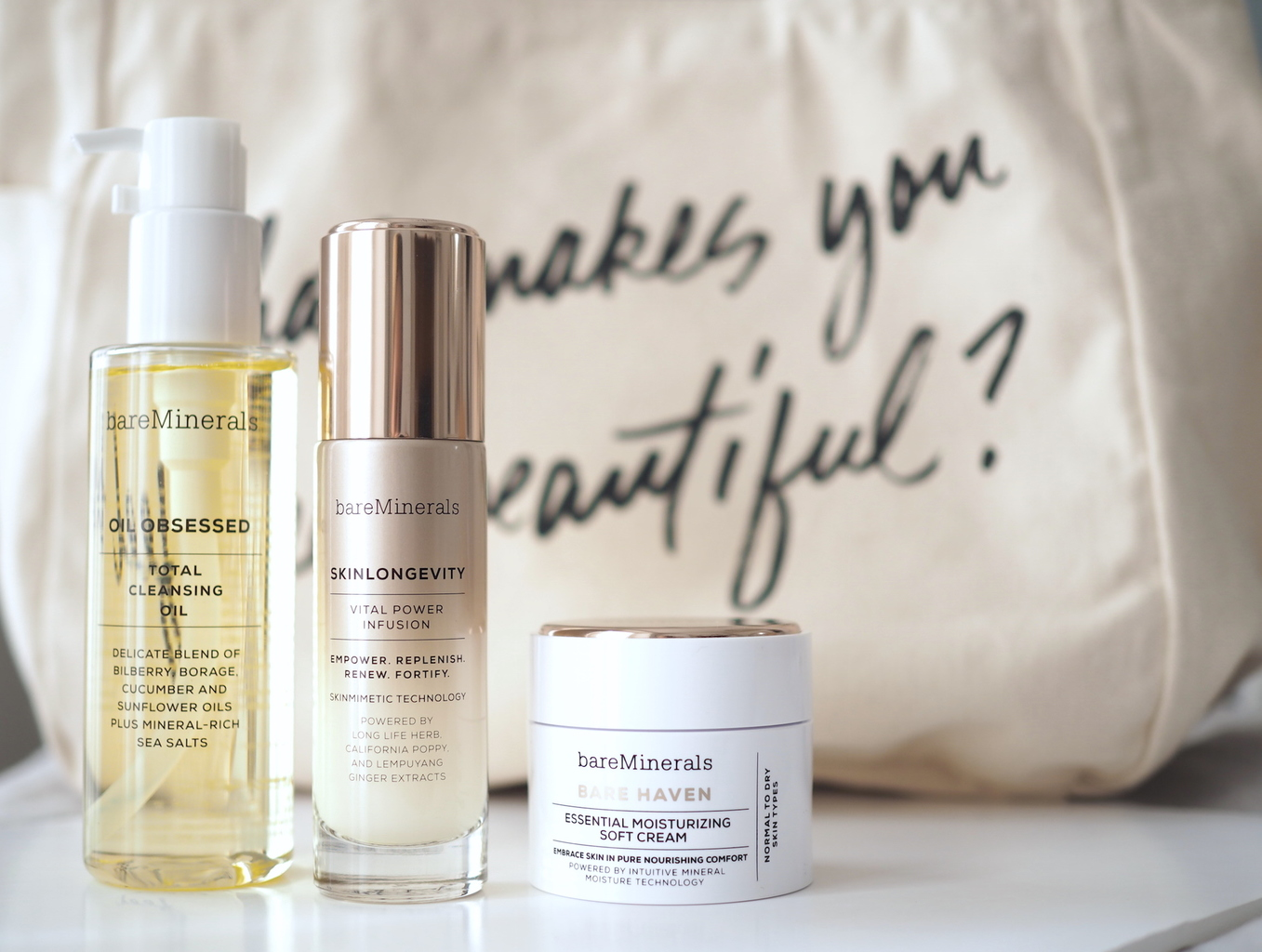 NEWNESS: BAREMINERALS LAUNCHES SKINCARE - Style Lobster