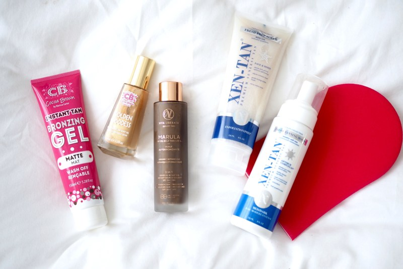 MY TANNING ROUTINE & HERO PRODUCTS