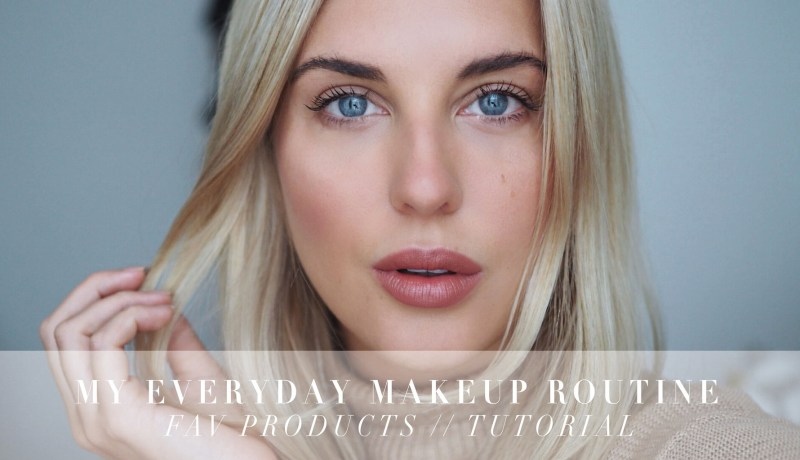 MY CURRENT EVERDAY MAKEUP ROUTINE || TUTORIAL
