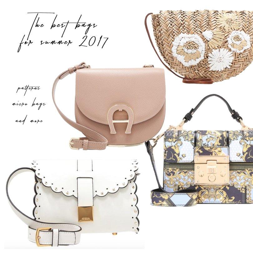Taschentrends Sommer 2017, Fashionblogger, Trends Sommer 2017, Best Bags Summer 2017