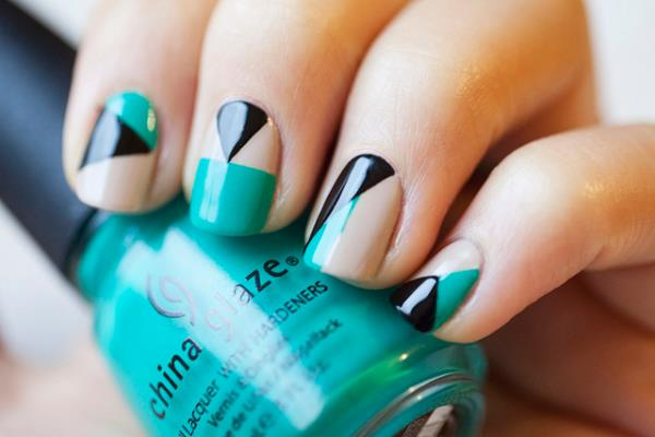 212 Diy Nail Art Designs Using Tape Best Image 2017 On With