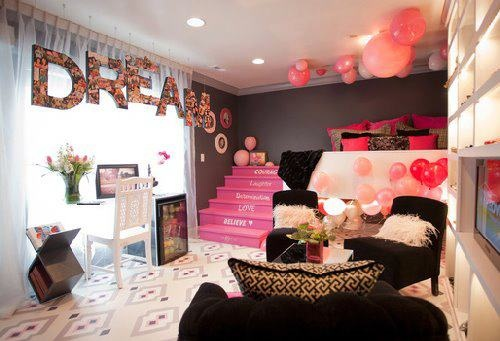 24 Cute girls' rooms on Beautiful:9Ekmjwucuyu= Girls Room Decoration  id=15622