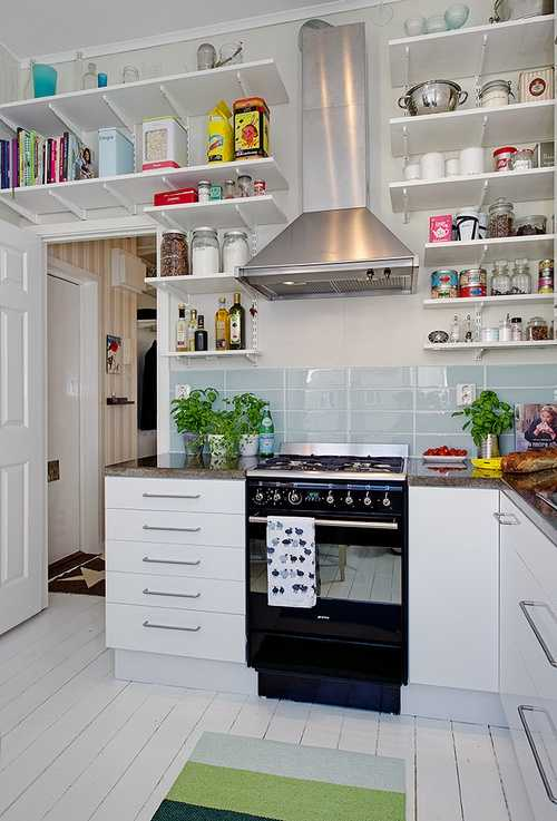 27 Brilliant Small Kitchen Design Ideas   Style Motivation 27 Brilliant Small Kitchen Design Ideas