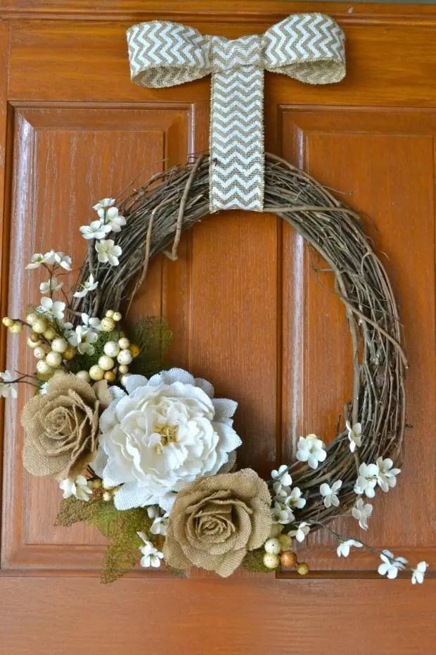 25 Adorable DIY Fall Wreath Ideas Style Motivation