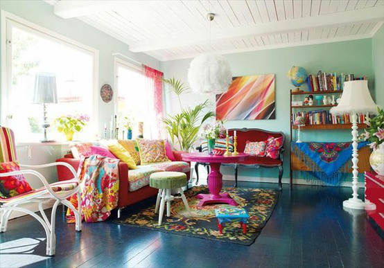 26 Amazing Ideas For Colorful Living Room Style Motivation