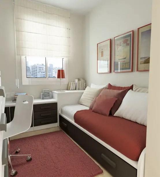 25 Cool Teen Rooms Design Ideas - Style Motivation on Teen Small Bedroom Ideas  id=74086