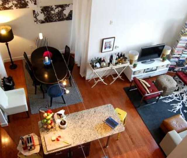 Urban Small Studio Apartment Design Ideas