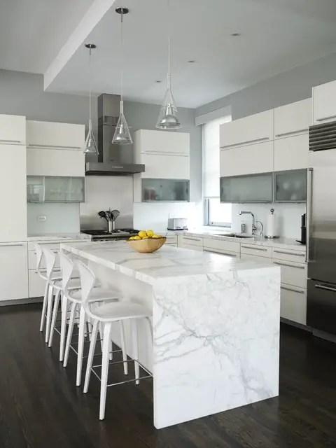 20 Great Kitchen Island Design Ideas in Modern Style ... on Kitchen Counter Decor Modern  id=26196