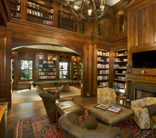 23 Amazing Home Library Design Ideas For All Book Lovers