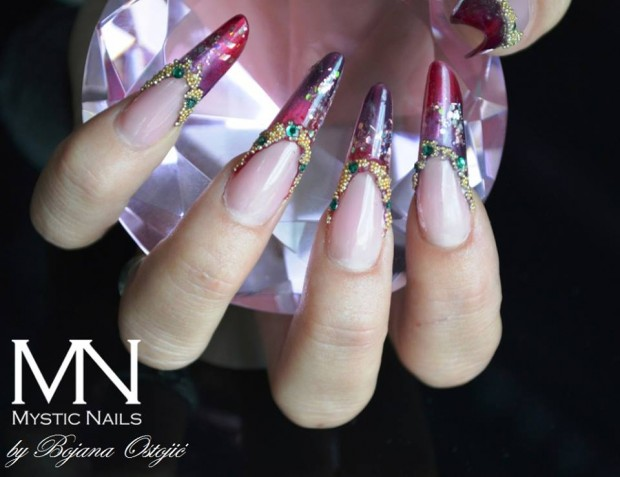 22 Unique And Extravagant Nail Designs Style Motivation