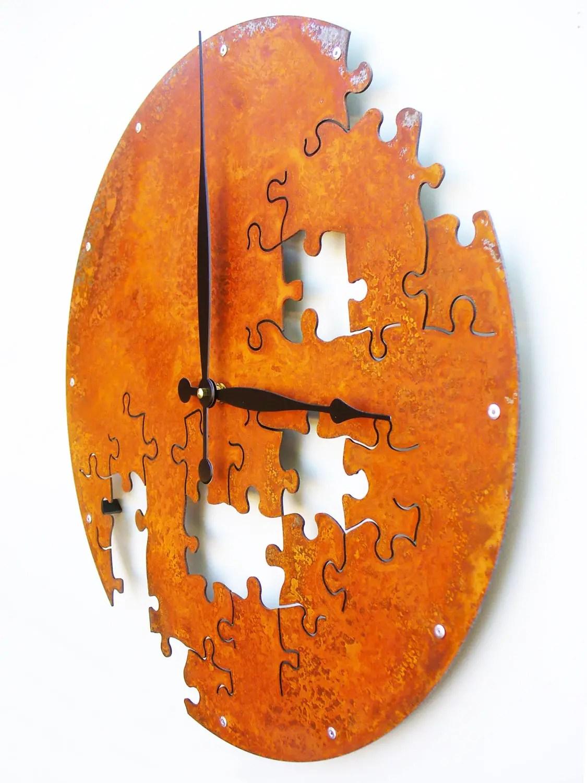 26 Extremely Creative Handmade Wall Clocks - Style Motivation on Creative Wall  id=59762