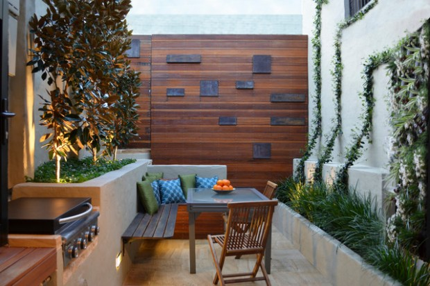 18 Outdoor Breakfast Nook Ideas for Bright and Beautiful ... on Backyard Nook Ideas id=61893
