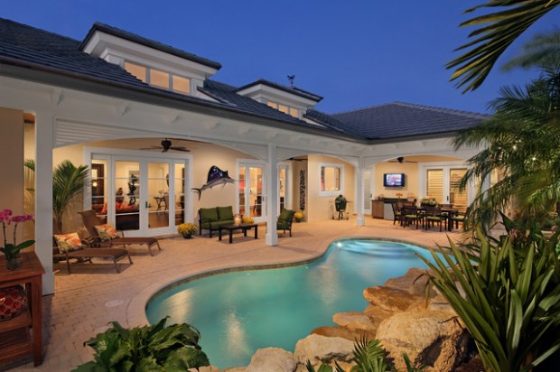 21 Luxury Patio Design Ideas For Inspiration on Luxury Backyard Patios id=43600