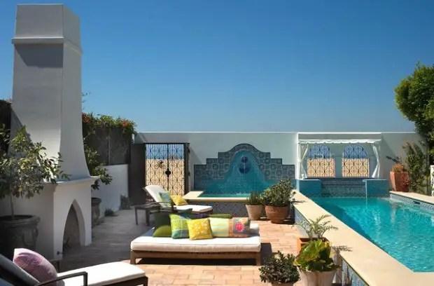 18 Amazing Moroccan Style Patio Design Ideas - Style ... on Moroccan Backyard Design  id=60951