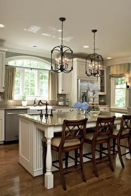 18 Gorgeous White Kitchen Design Ideas in Traditional ... on Traditional Kitchen Decor  id=29029
