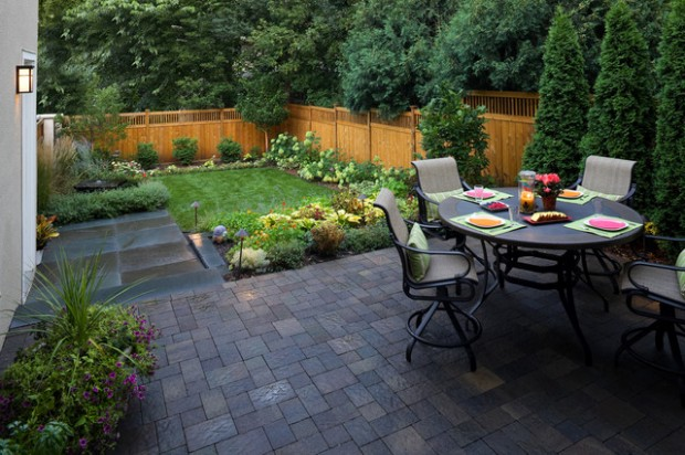 18 Great Design Ideas for Small City Backyards - Style ... on Nice Backyard Landscaping Ideas id=79326