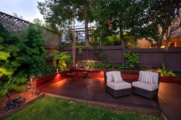 18 Great Design Ideas for Small City Backyards - Style ... on Nice Backyard Landscaping Ideas id=33737