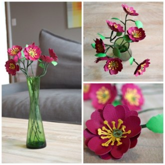 19 Cute DIY Paper Flower Ideas to Celebrate Spring   Style Motivation 19 Cute DIY Paper Flower Ideas to Celebrate Spring