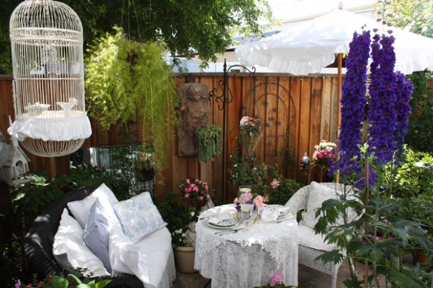 20 Cozy Chic Patio Design Ideas Perfect for Sunny Days ... on Chic Patio Ideas id=77611