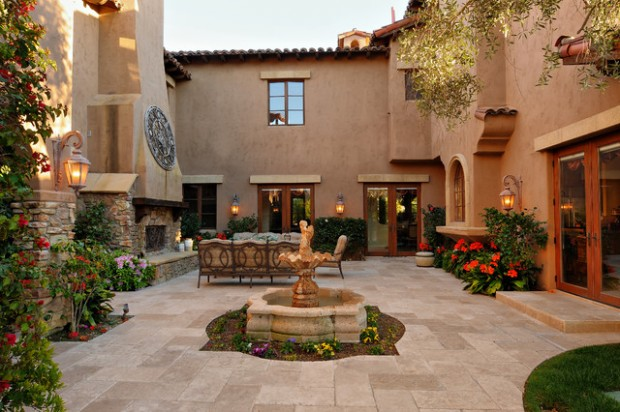 Amazing Courtyards: 19 Landscaping Design Ideas - Style ... on Courtyard Patio Ideas id=46250