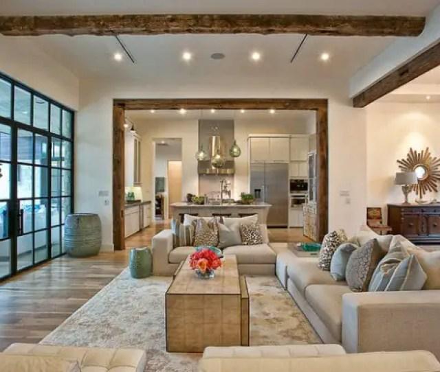 Open Concept Kitchen Living Room Design Ideas