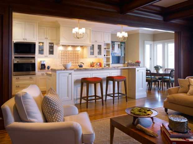 Kitchen And Family Room Decorating Ideas