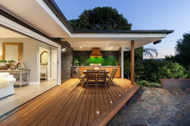 17 Amazing Covered Deck Design Ideas To Inspire You on Covered Back Deck Designs id=64700