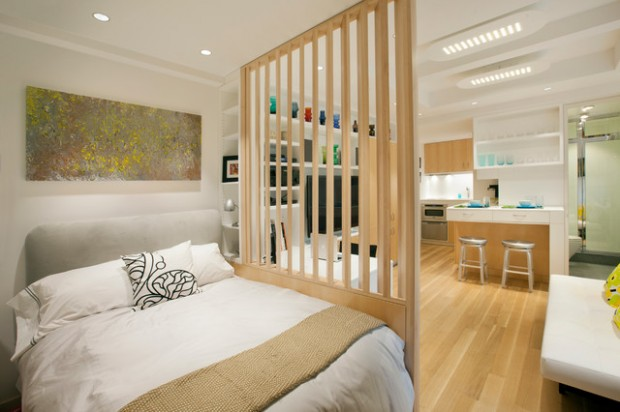18 Smart Solutions For Small Apartments